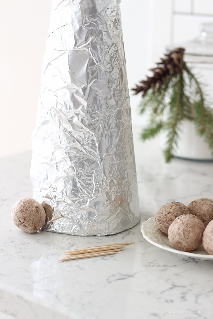 How to make stunning, whimsical donut hole tree for your next special gathering! So simple and fun!