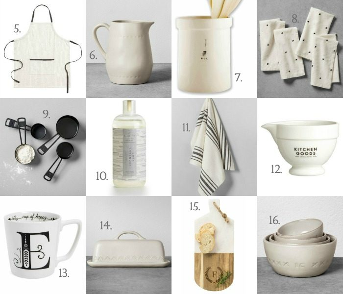 Holiday Gift Guide no. 4 - Kitchen Gifts