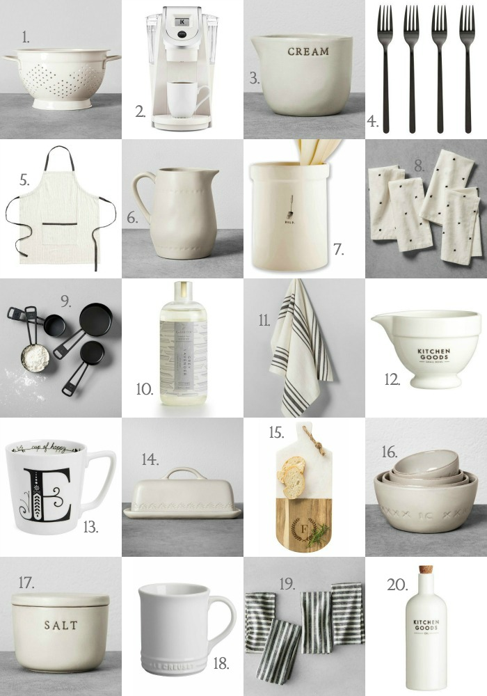 Holiday Gift Guide no. 4 - Kitchen Gifts - Love Grows Wild
