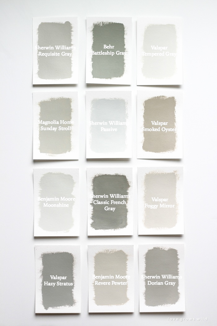 Favorite gray paint colors love grows wild for Gray stone paint color