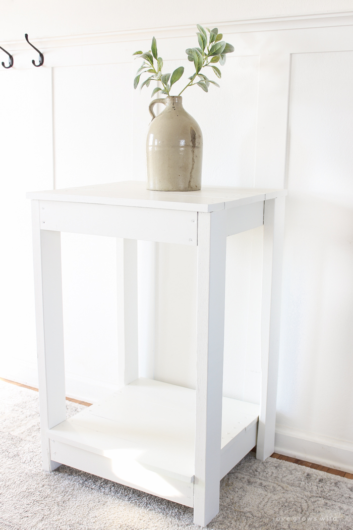 How To Build A Simple Inexpensive Table That Is Perfect As An End Or