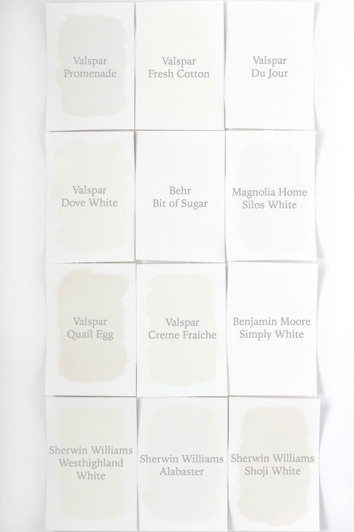 The best white paint colors for interiors - from warm ivory to bright white and everything in between. Use this guide to pick your perfect white!
