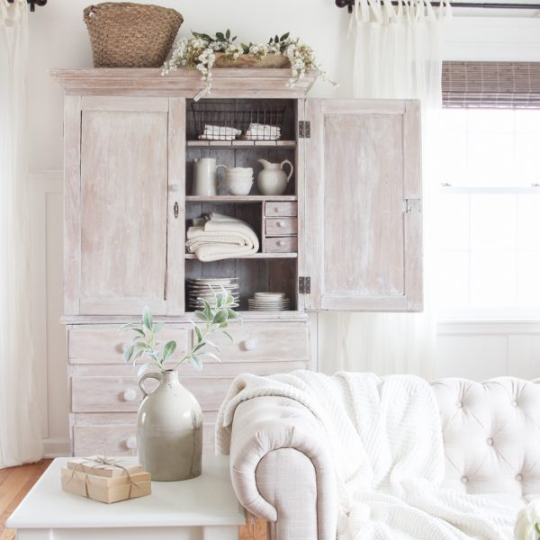 Repurposed blueprint cabinet coffee table love grows wild see how this small farmhouse living room transformed and evolved over the years from dark and malvernweather