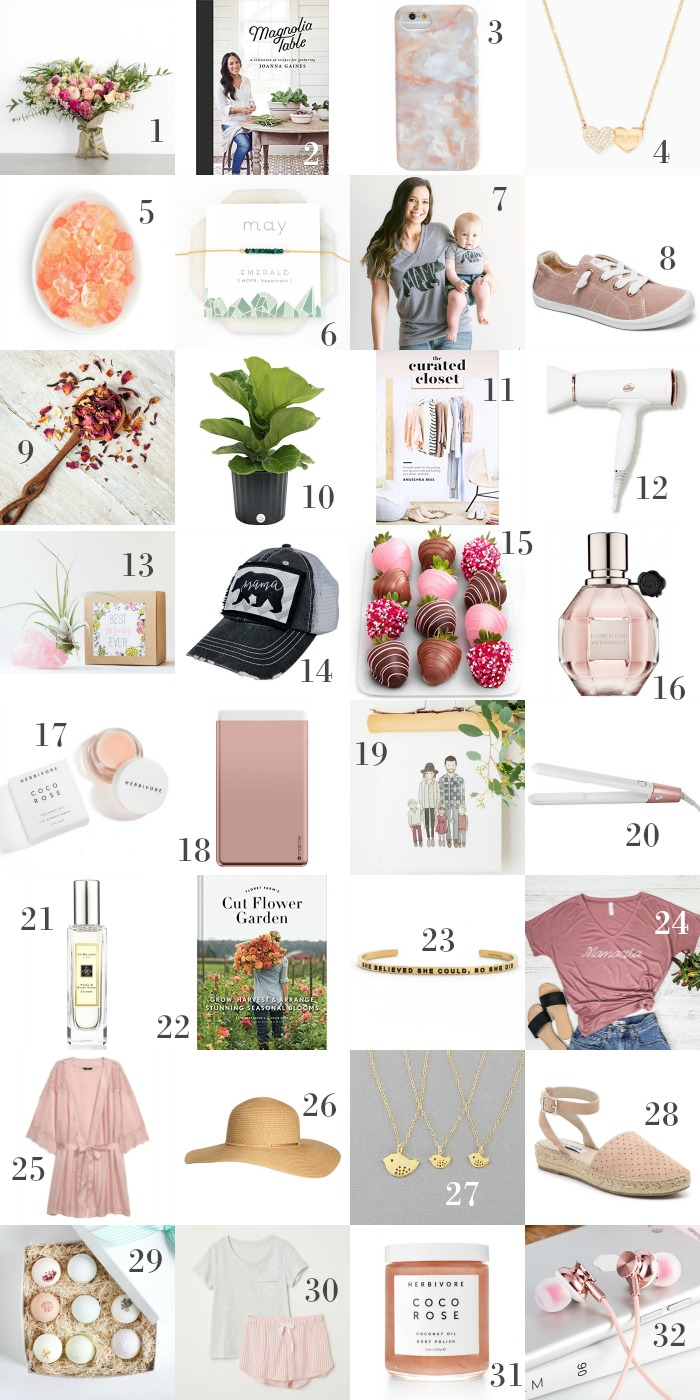 Mother's Day Gift Guide - gift ideas that Mom is sure to love!