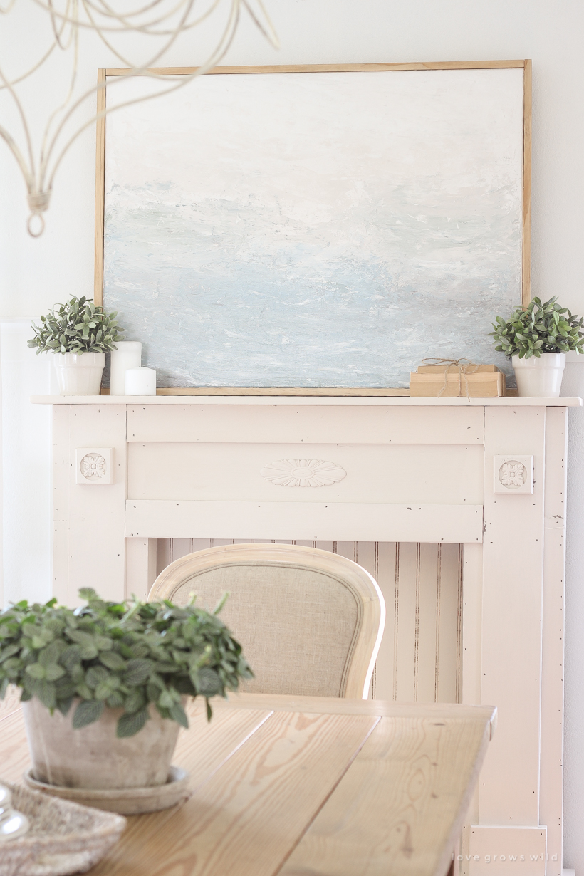 How To Create A Framed Canvas Painting Even When You Re Not