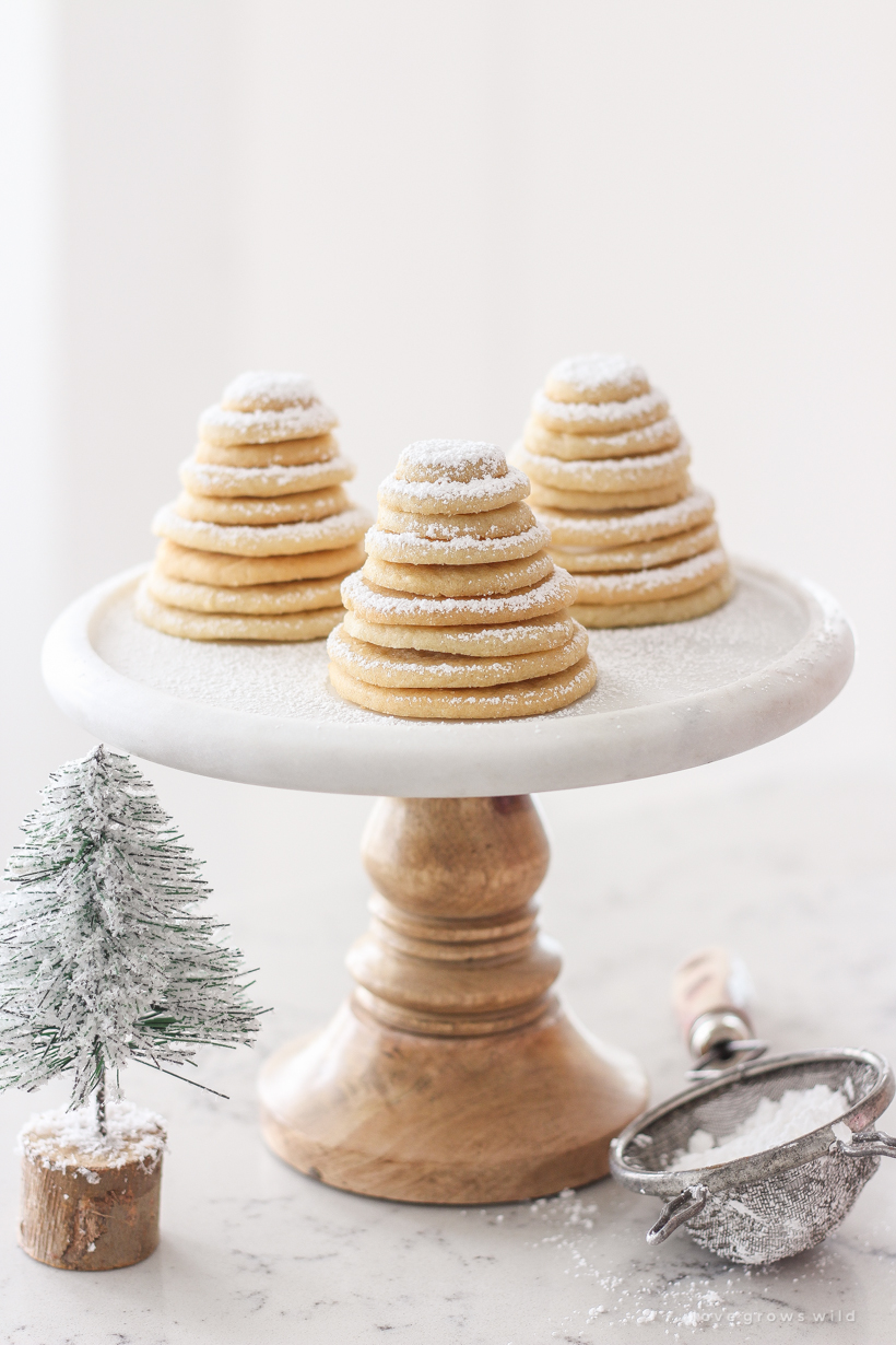 How To Make Sugar Cookie Christmas Trees Love Grows Wild