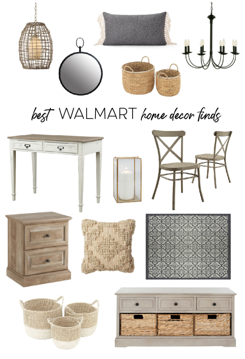 Home and lifestyle blogger Liz Fourez shares her favorite finds for affordable and stylish home decor from Walmart