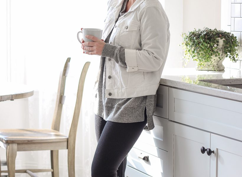 Home and lifestyle blogger Liz Fourez shares how to put together a cozy layered winter outfit with her top wardrobe finds of the season.