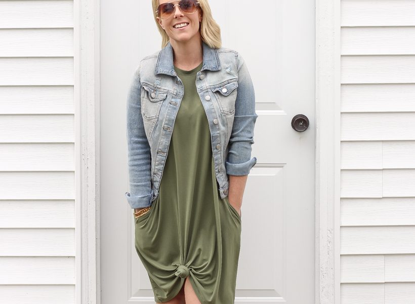 Home and lifestyle blogger Liz Fourez shares easy, basic clothing pieces for days when you want to feel a little more put together and dressy, but still feel as comfortable as ever! Shop these cute outfits now!
