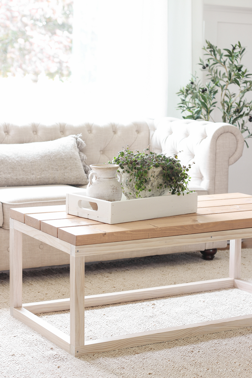 Simple Diy Coffee Table Love Grows Wild