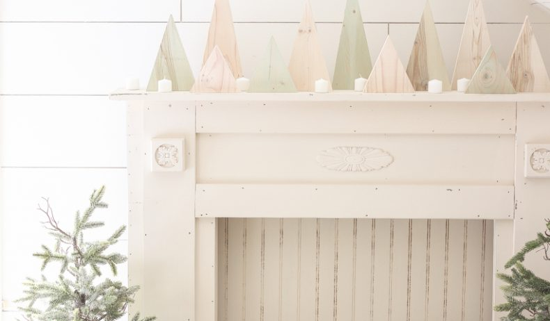 This easy tutorial uses scrap wood to create beautiful Christmas trees that are perfect for your holiday decorating.
