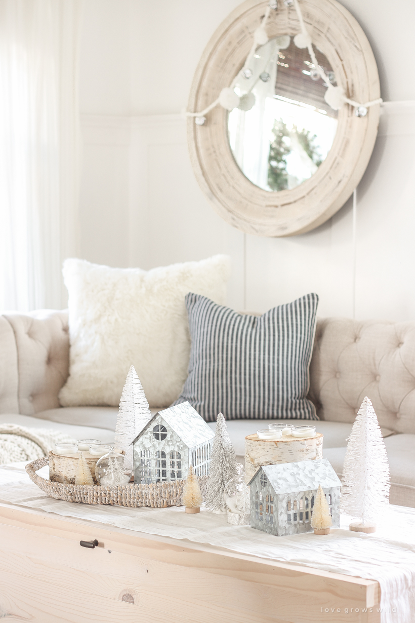 Christmas decorating ideas from home and lifestyle blogger Liz Fourez