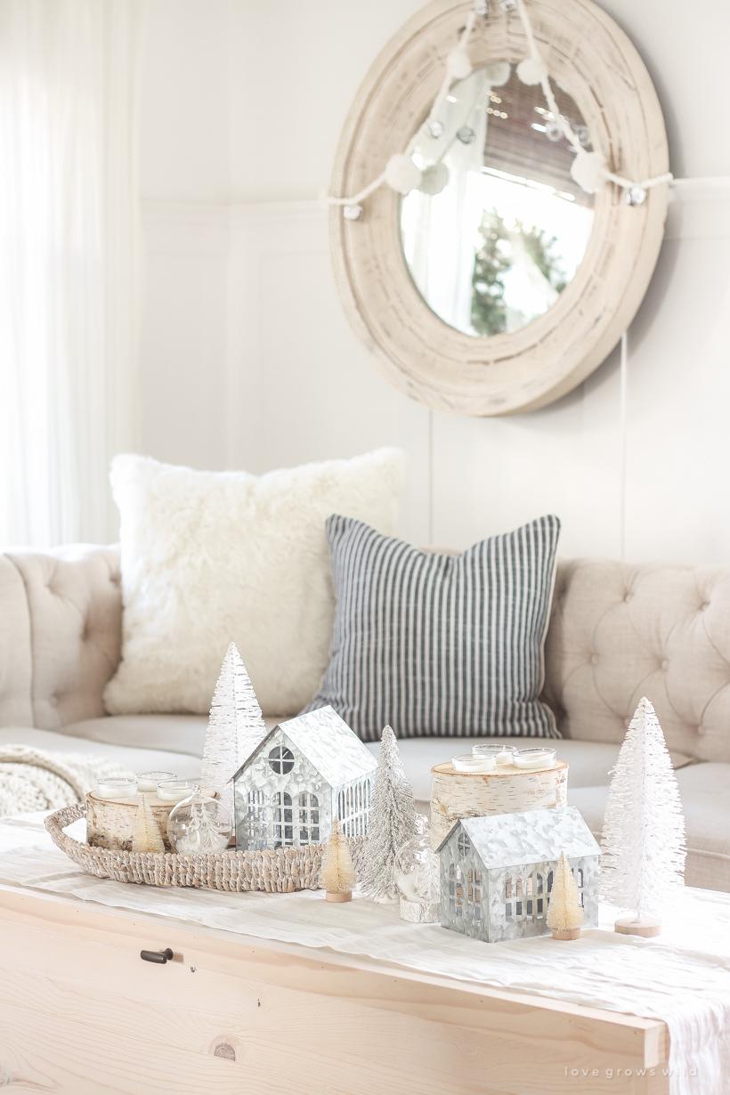 Christmas decorating ideas from home and lifestyle blogger Liz Fourez