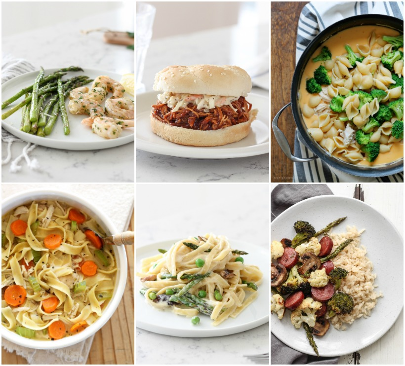 Dinner Ideas from LoveGrowsWild.com