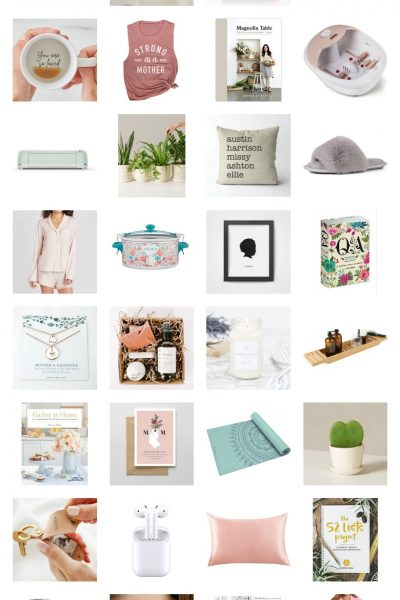 Thoughtful + unique gift ideas for mom on Mother's Day