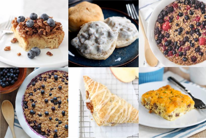 Breakfast Recipes from LoveGrowsWild.com