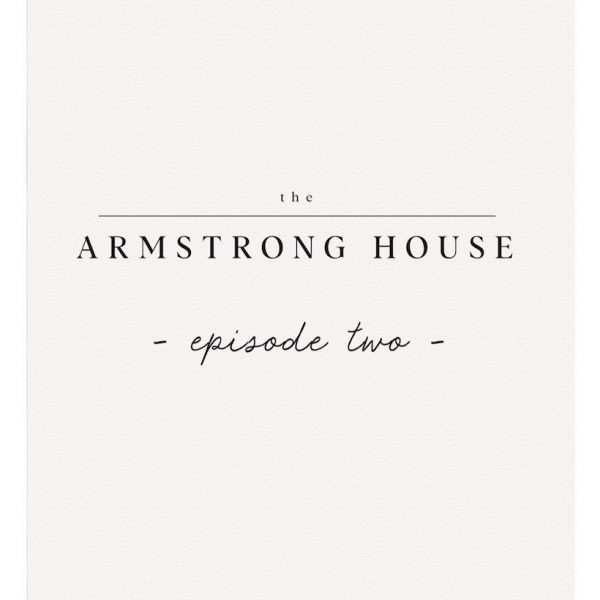 Phase two of the Armstrong House renovation project is complete! Come see the progress at LoveGrowsWild.com