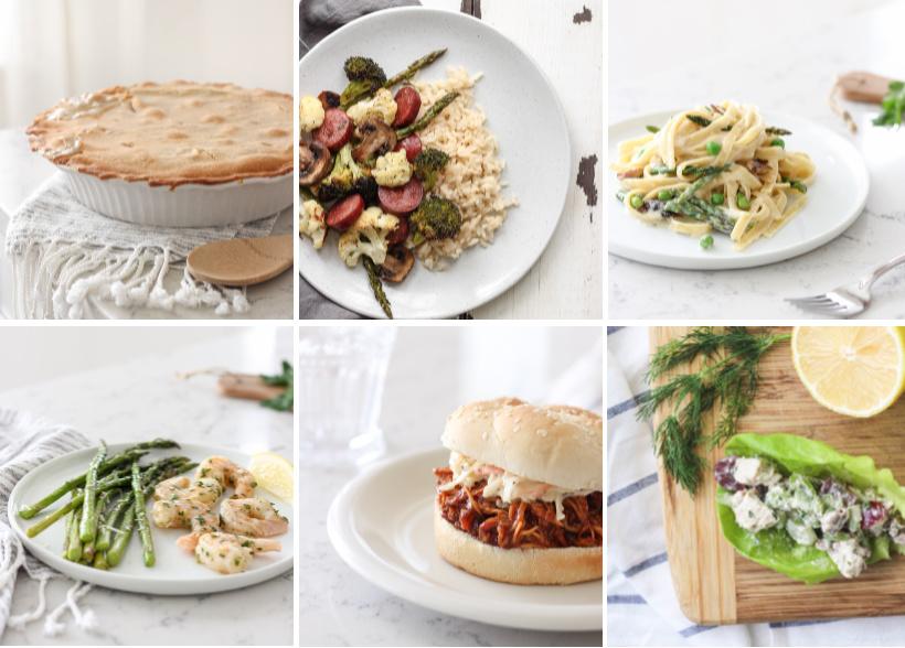Meal Ideas from LoveGrowsWild.com
