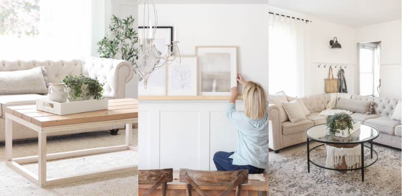 Answering one of the most frequently asked design questions: how to decorate around a TV!