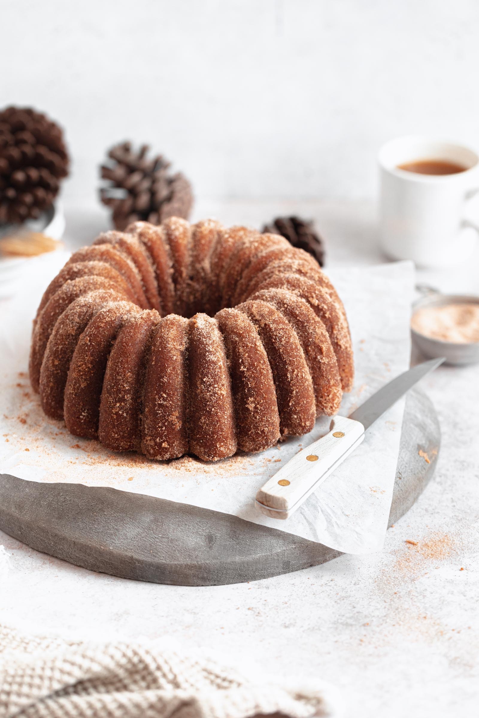 Apple Cider Donut Bundt Cake Recipe