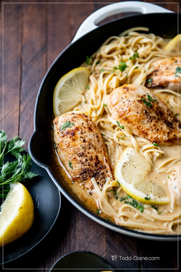 Creamy Lemon Pepper Chicken Recipe