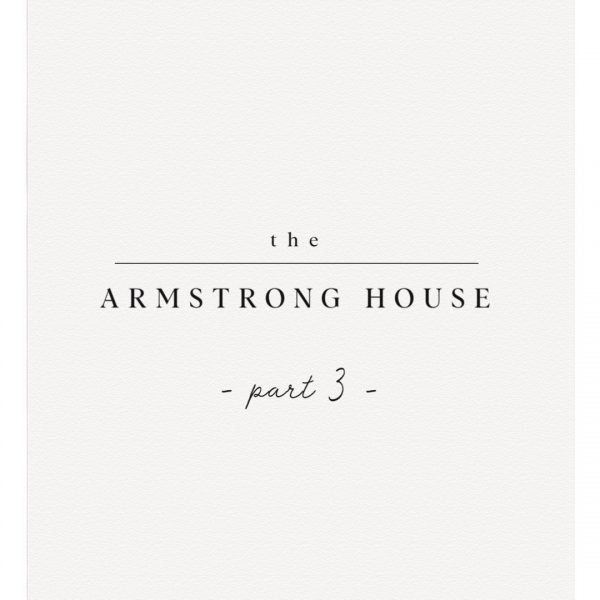 The Armstrong House is finished! Come see the last phase of renovations on this project! LoveGrowsWild.com