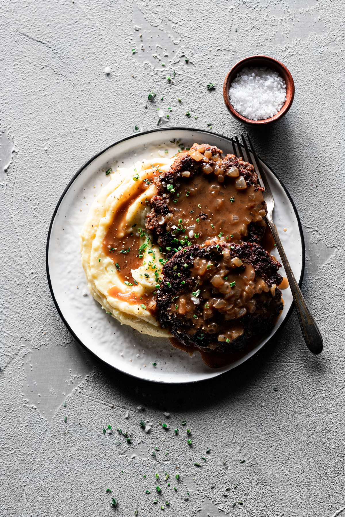 Easy Salisbury Steak and Gravy Recipe