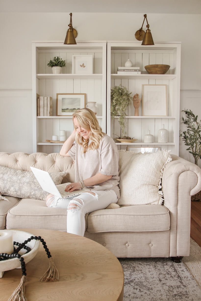 """Defining and Simplifying """"Home"""" - blogger and interior decorator Liz Fourez shares advice for creating a home you love"""